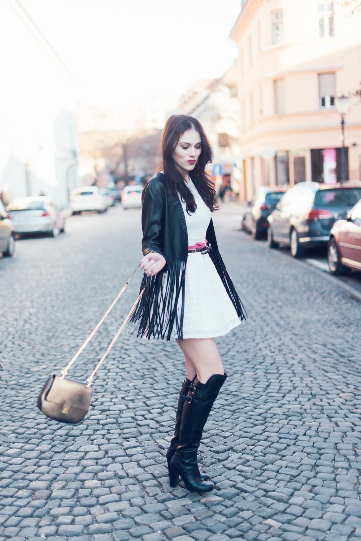 Eva Ahačevčič Ajda Sitar Resasta jakna Ženska jakna Boho Modna blogerka New Yorker 8