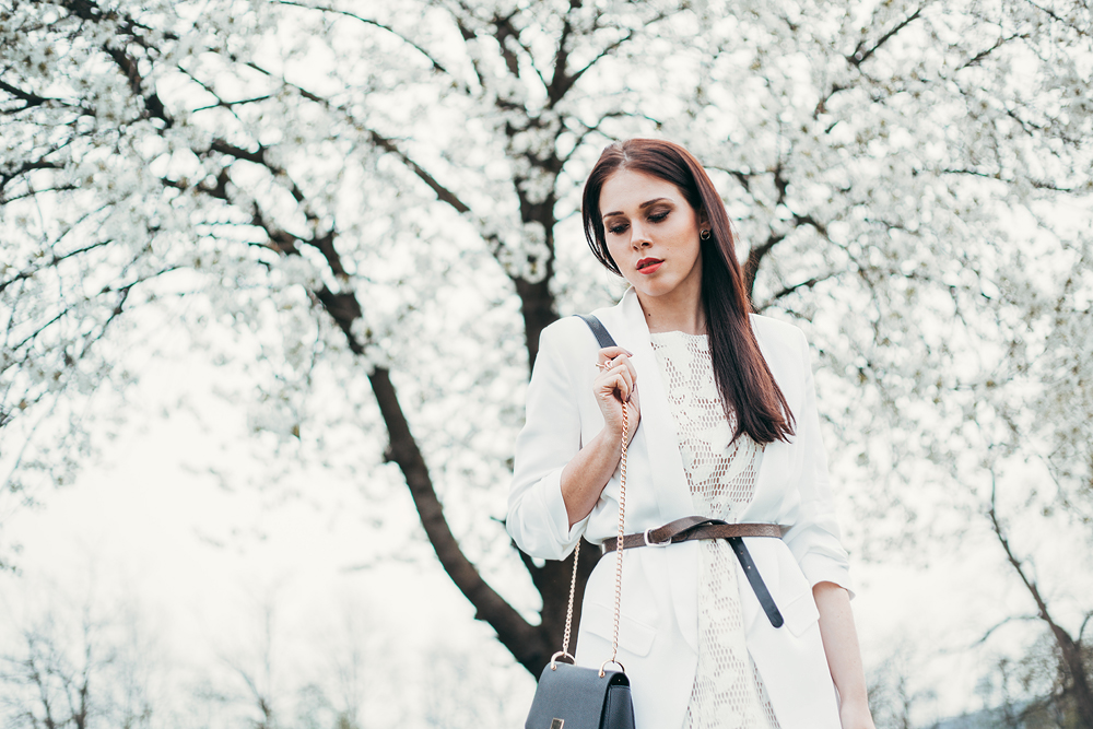 Eva AHačevčič_Love, Eva_Bela obleka_Čipkasta obleka_OOTD 2