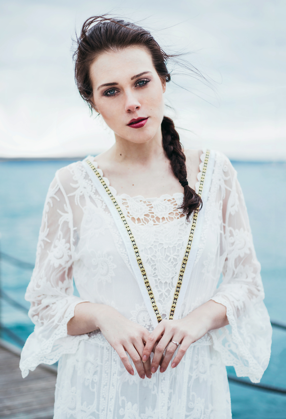 Eva Ahačevčič_Love, Eva_OOTD_FAshion blogger_Terminal 3_WHite dress_Bohemian_Details_Beauty