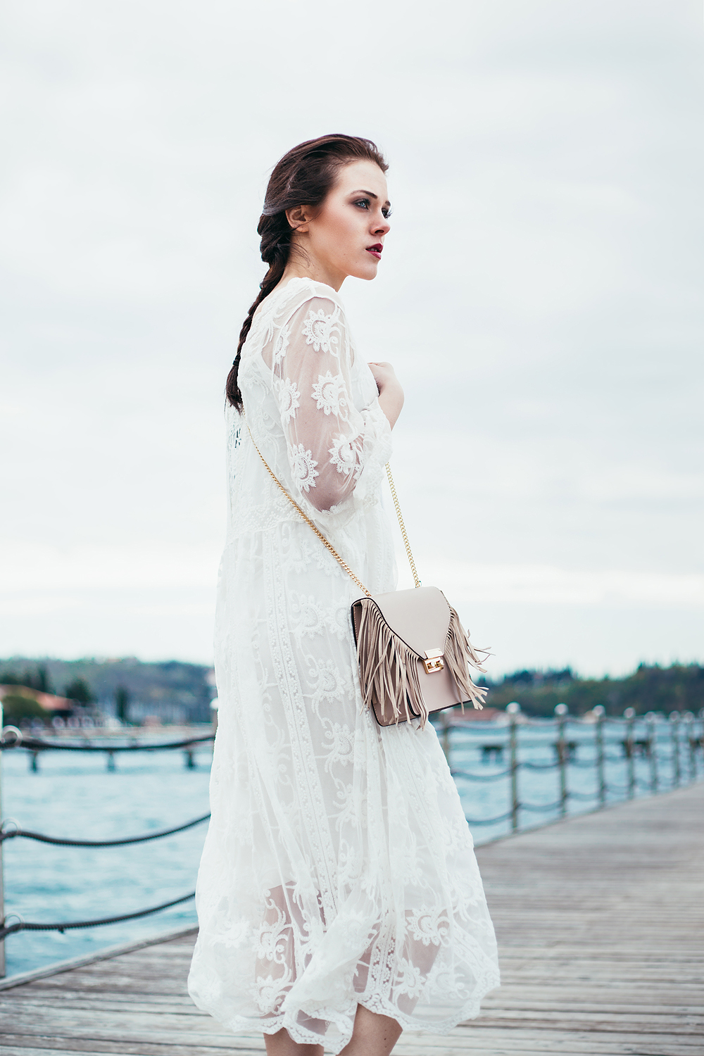 Eva Ahačevčič_Love, Eva_OOTD_FAshion blogger_Terminal 3_WHite dress_Boho
