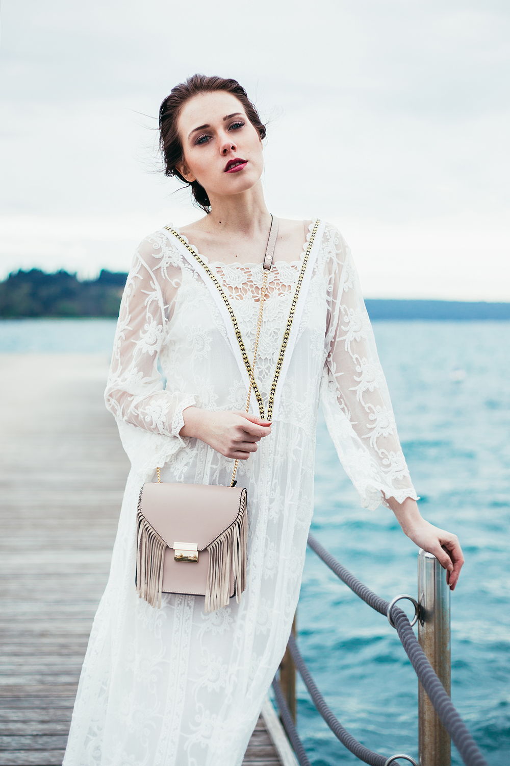 Eva Ahačevčič_Love, Eva_OOTD_FAshion blogger_Terminal 3_WHite dress_Boho_Slovenia_Portorose