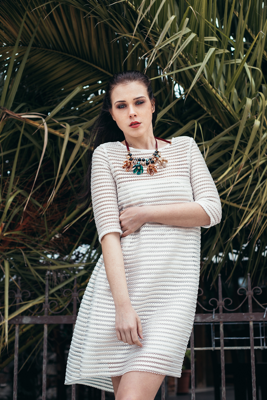 Eva Ahačevčič_Love, Eva_OOTD_All white look_White dress_Bela obleka_Imperial Fashion 2