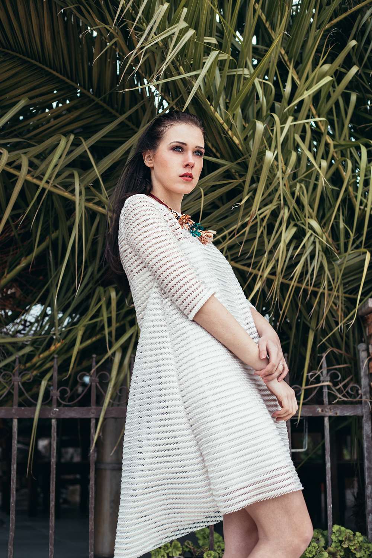 Eva Ahačevčič_Love, Eva_OOTD_All white look_White dress_Bela obleka_Imperial Fashion 8