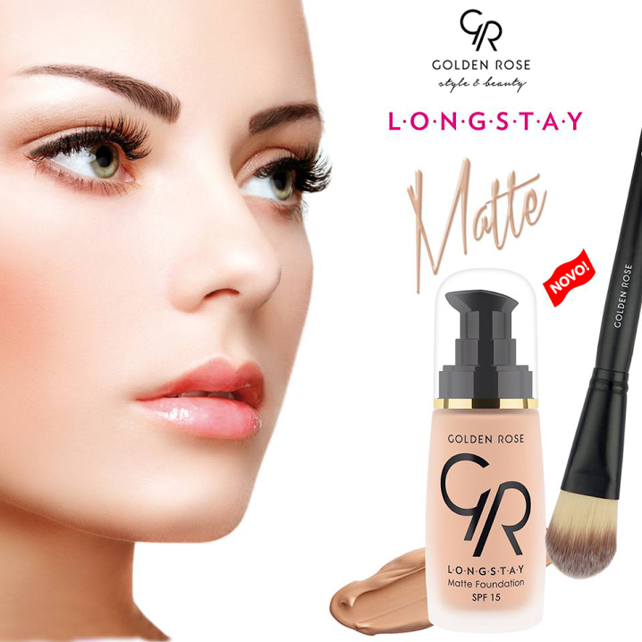 Golden Rose Longstay Matte Foundation