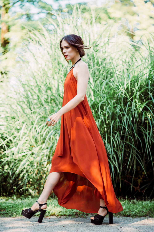 Eva Ahačevčič_Love, Eva_H&M_dress_Parfois_Platform shoes_OOTD