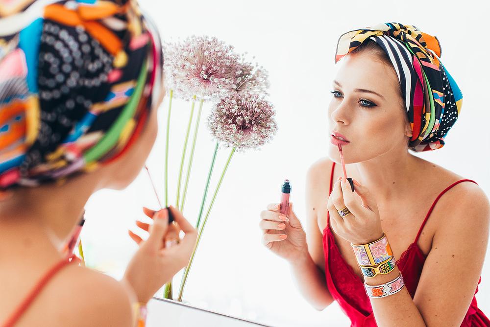 Eva Ahačevčič_Love, Eva_Golden Rose_Matte Lipstick_Make up_Frey Wille