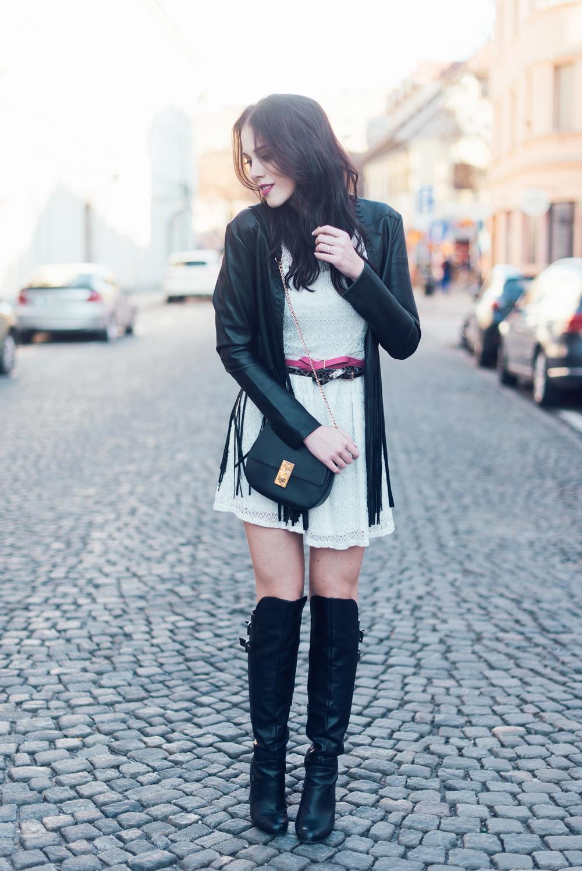 Eva Ahačevčič Ajda Sitar Resasta jakna Ženska jakna Boho Modna blogerka New Yorker 4