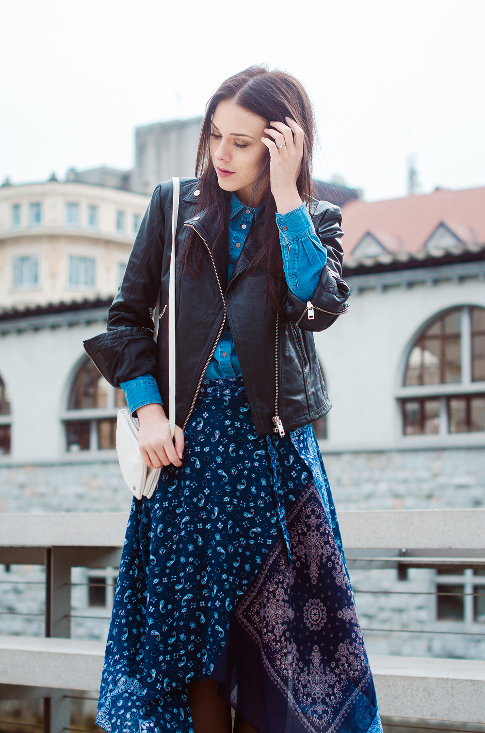 Eva Ahačevčič_Love, Eva_Diesel_Usnjena jakna_OOTD