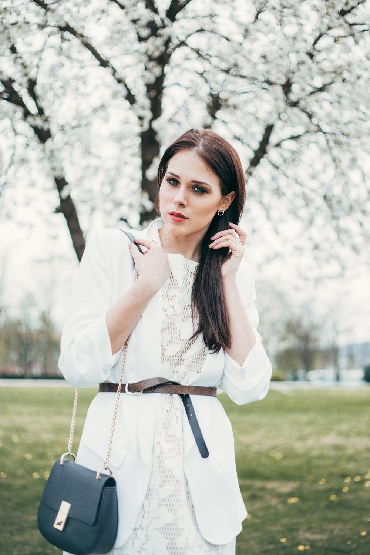 Eva AHačevčič_Love, Eva_Bela obleka_Čipkasta obleka_OOTD 1