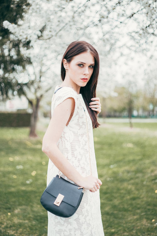 Eva AHačevčič_Love, Eva_Bela obleka_Čipkasta obleka_OOTD 5