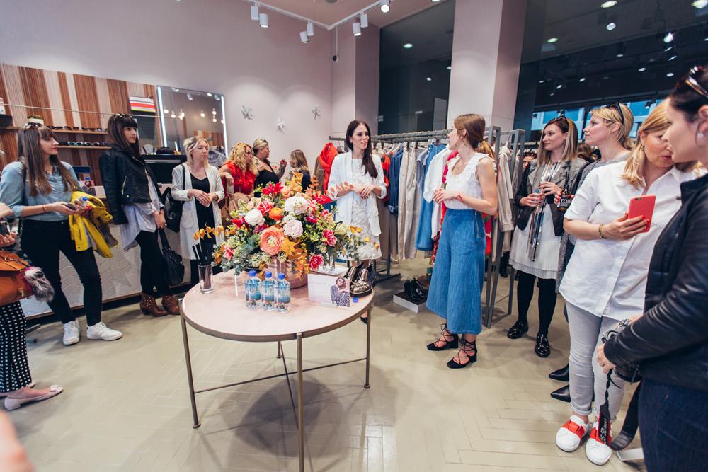 Eva Ahačevčič_Love, Eva_Max&Co._Grazia_Press event 1