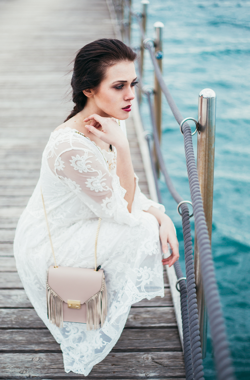 Eva Ahačevčič_Love, Eva_OOTD_FAshion blogger_Terminal 3_WHite dress_Bohemian_Romantic_Summer