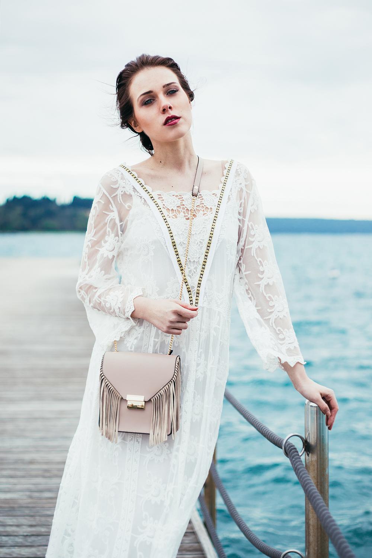 Eva Ahačevčič_Love, Eva_OOTD_FAshion blogger_Terminal 3_WHite dress_Boho_Slovenia_Portorose