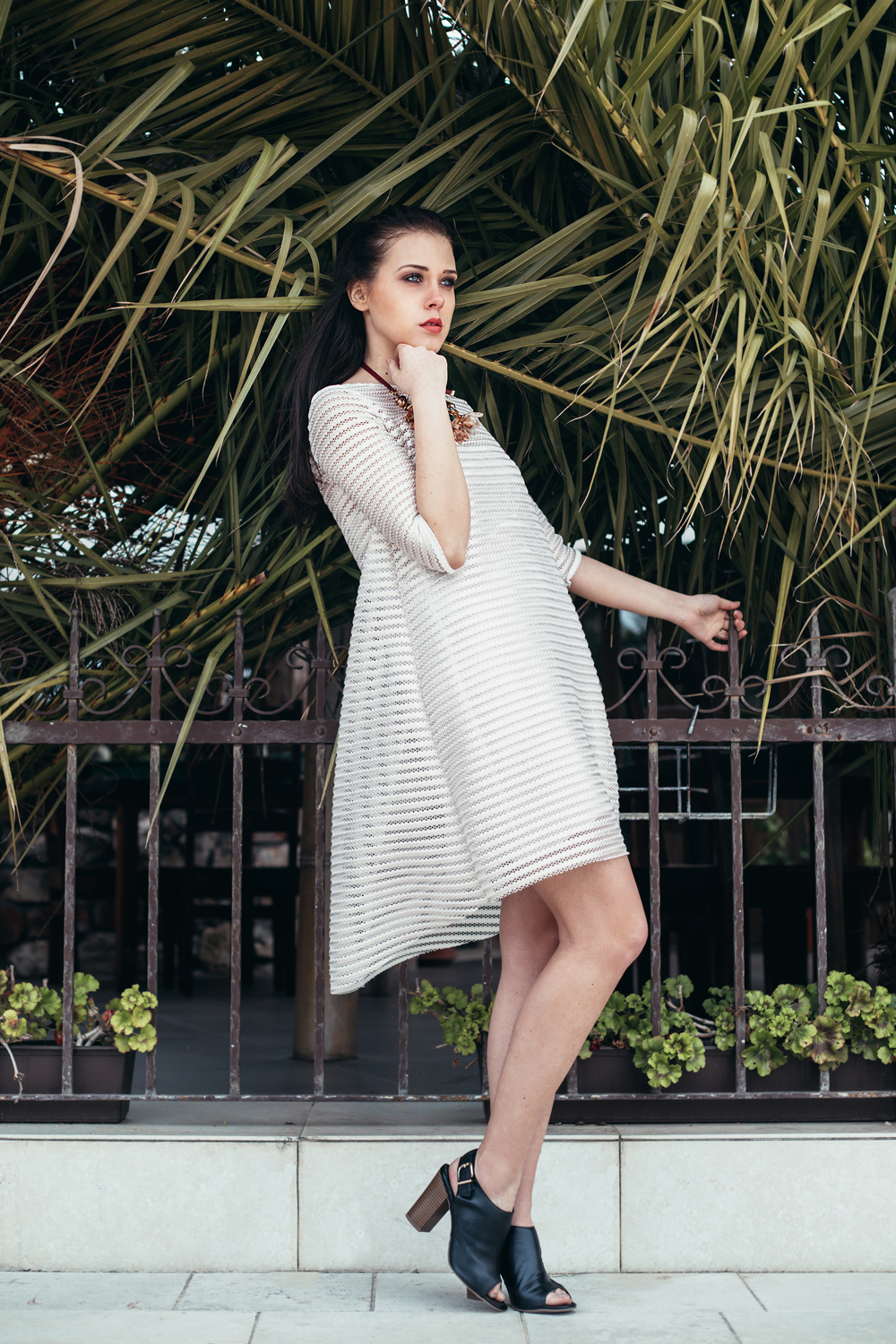 Eva Ahačevčič_Love, Eva_OOTD_All white look_White dress_Bela obleka_Imperial Fashion 7