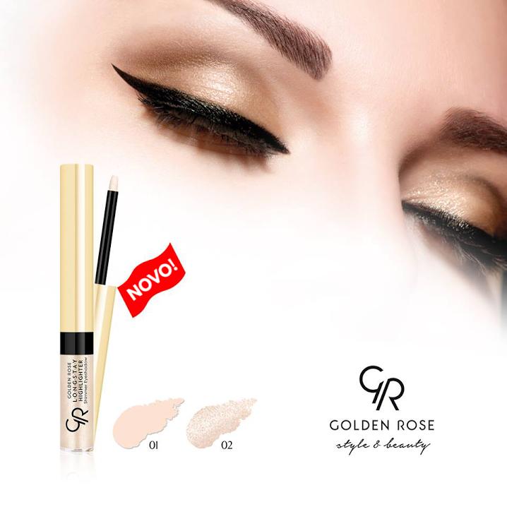 Golden Rose Longstay Highlighter Shimmer Eyeshadow