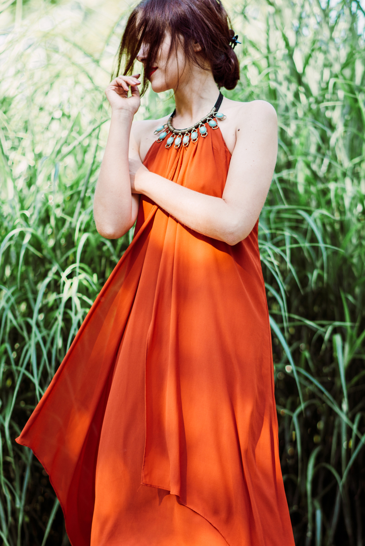 Eva Ahačevčič_Love, Eva_H&M_dress_Parfois_Platform shoes_OOTD 4